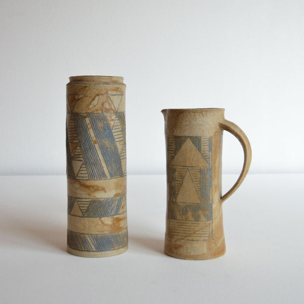 Pair of Studio Vases
