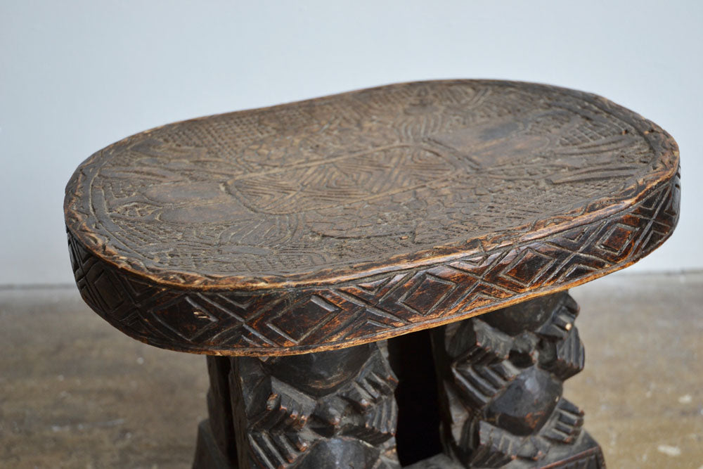 Pair of Tribal Stools
