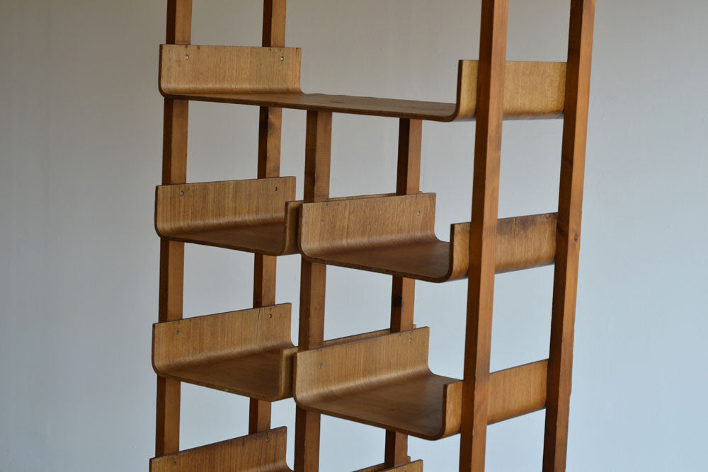 Bent Ply Shelving Unit