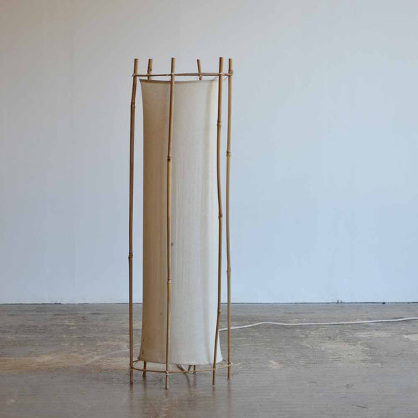 Louis Sognot Bamboo Floor Lamp