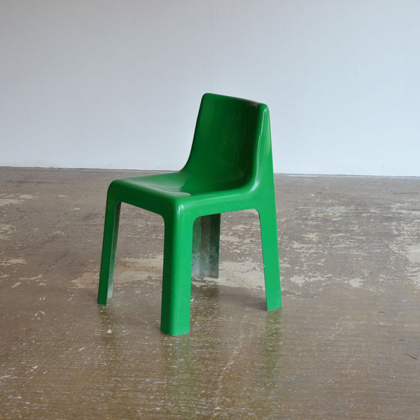 Marc Berthier Fibreglass Chair for Roche Bobois