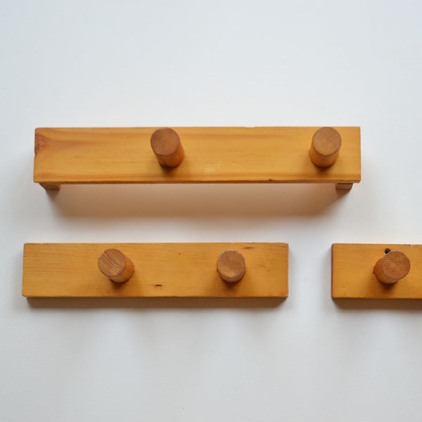 Modernist Timber Hooks