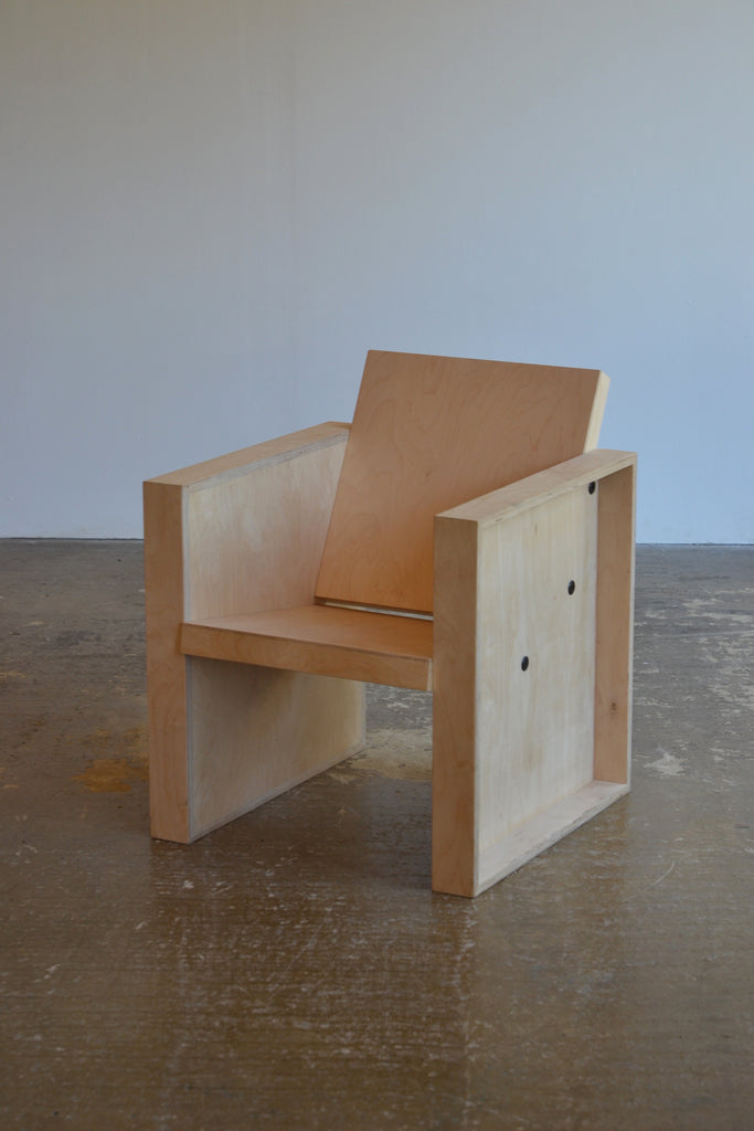 Birch Ply Lounge Chair