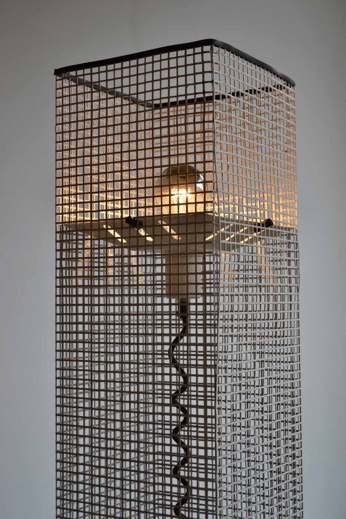 Perforated Metal Floor Lamp