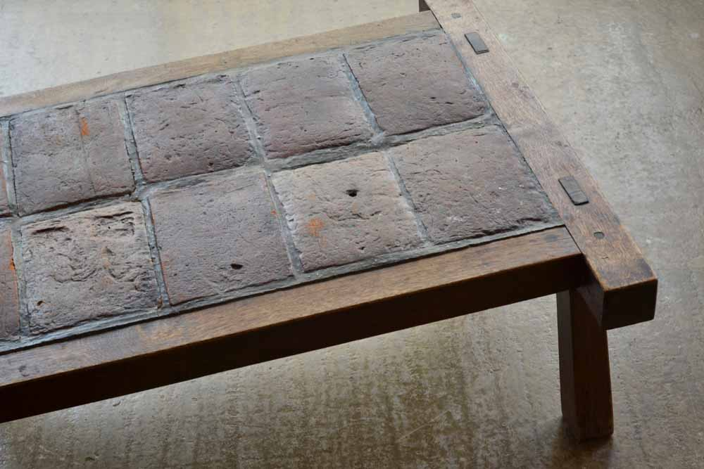 French Tiled Coffee Table