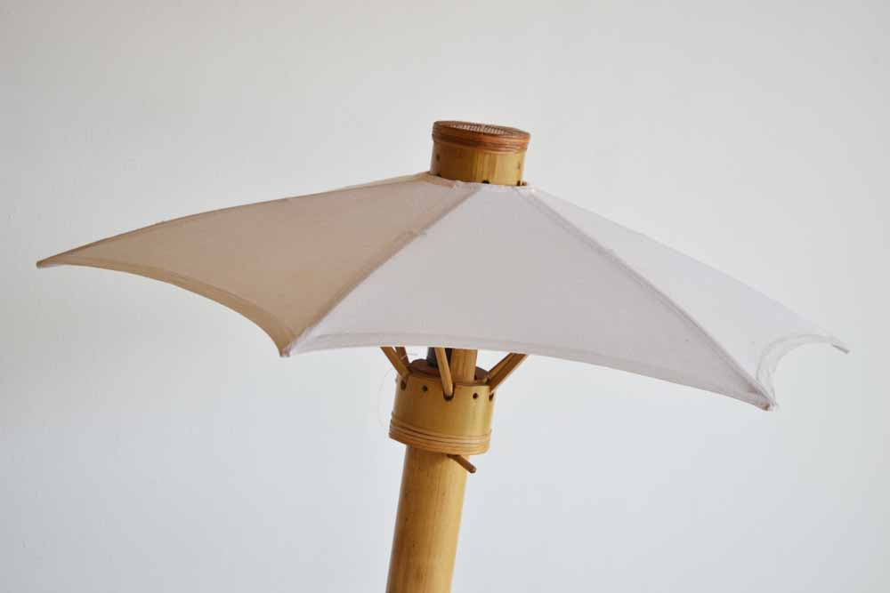 Bamboo Umbrella Lamp