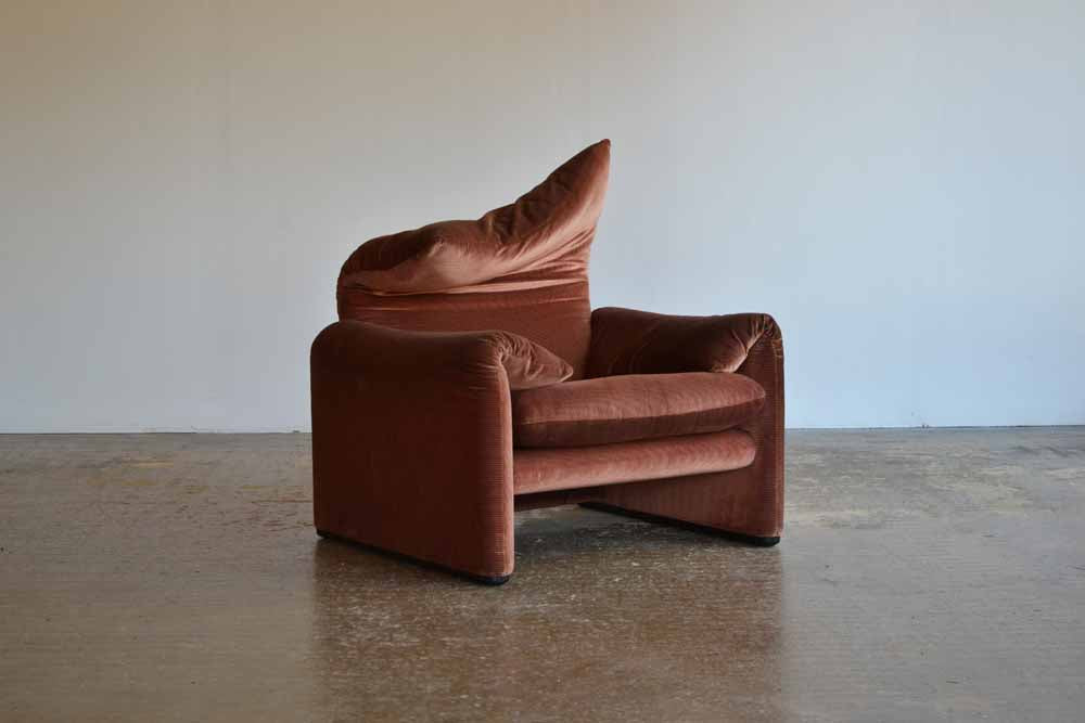 Vico Magistretti 'Maralunga' Chair for Cassina