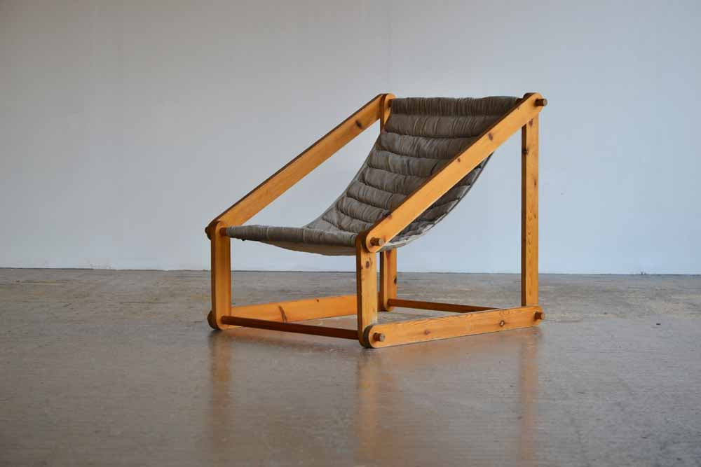 Pine Sling Chair