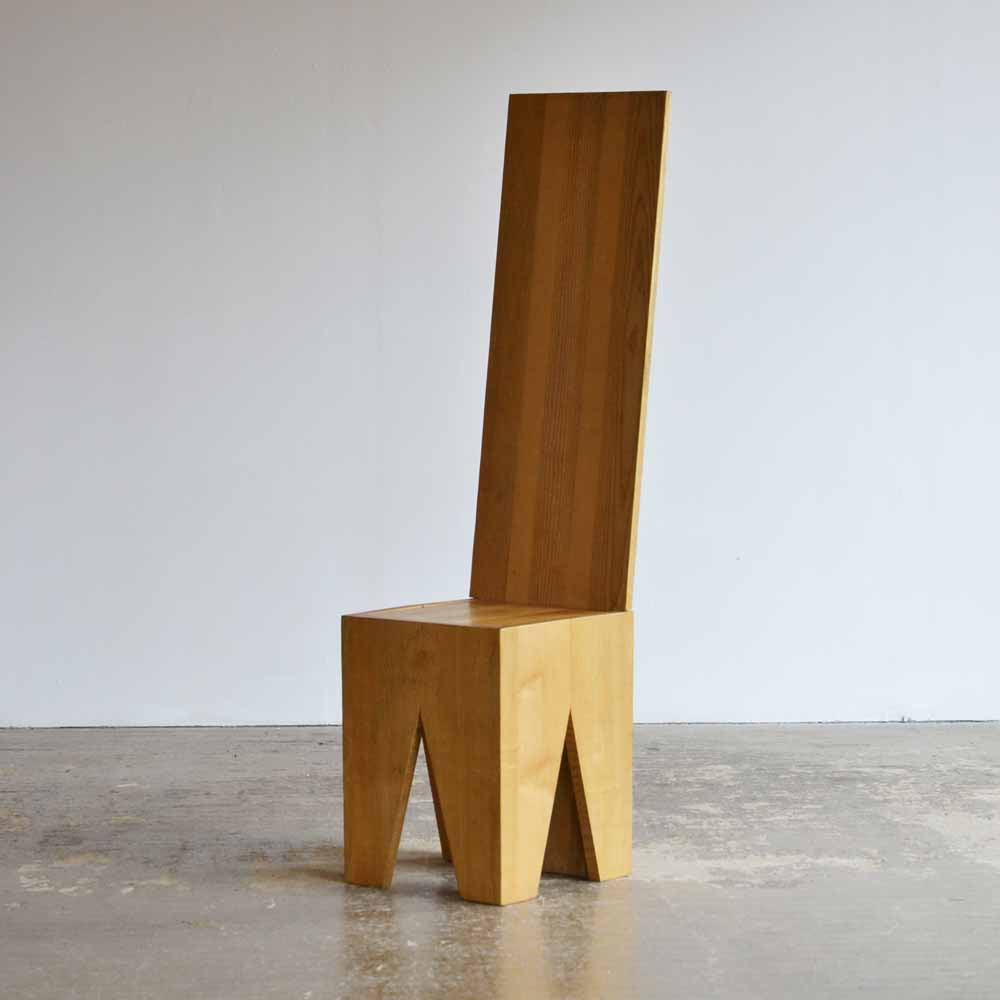 Oak Postmodern Chair