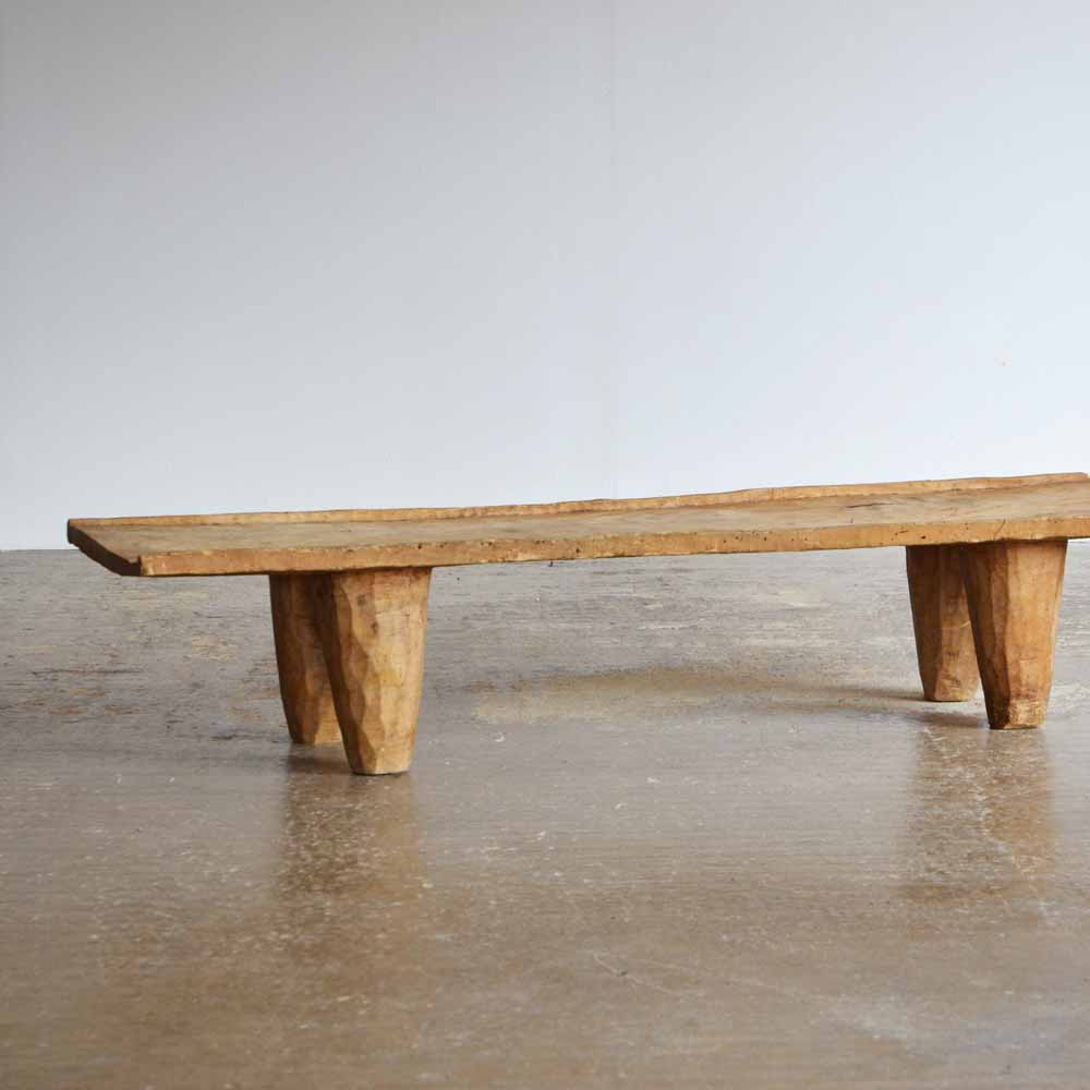 Pleasing Hand Carved African Senufo Bench Coffee Table The Peanut Gmtry Best Dining Table And Chair Ideas Images Gmtryco
