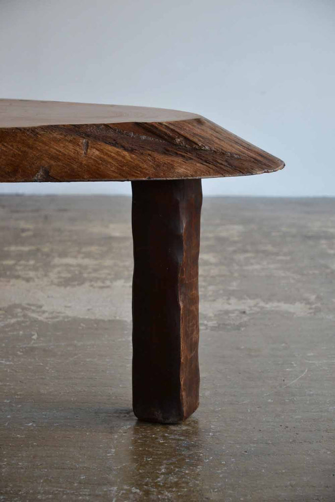 Oversized Timber Slab Table