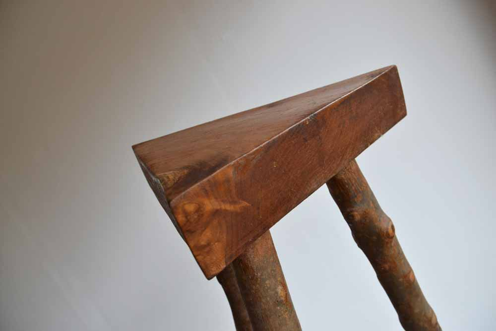 Timber Triangular Stools