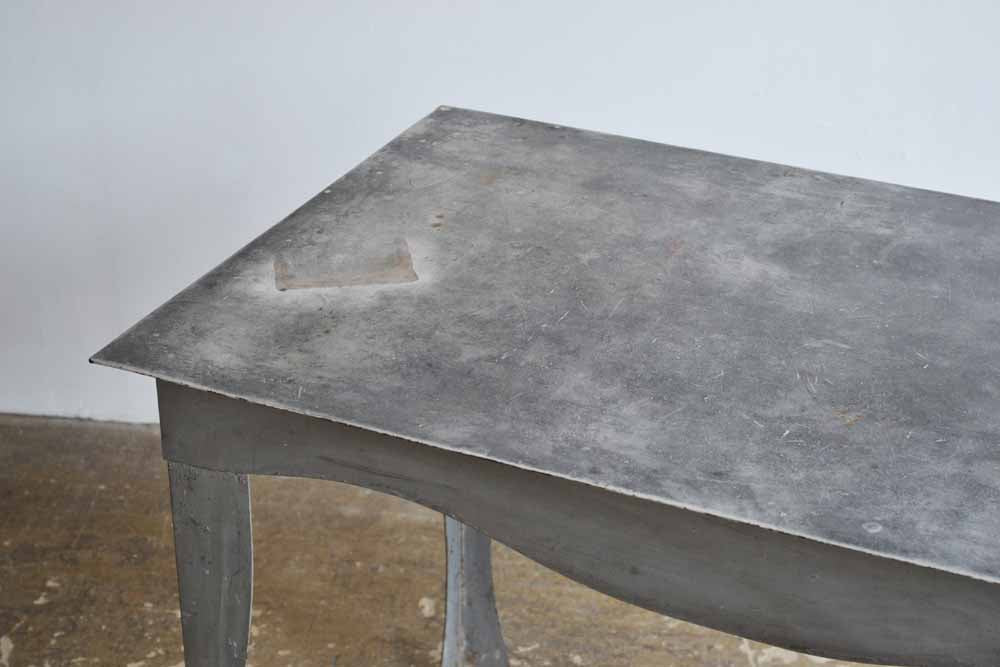 1980's Metal Dining Table