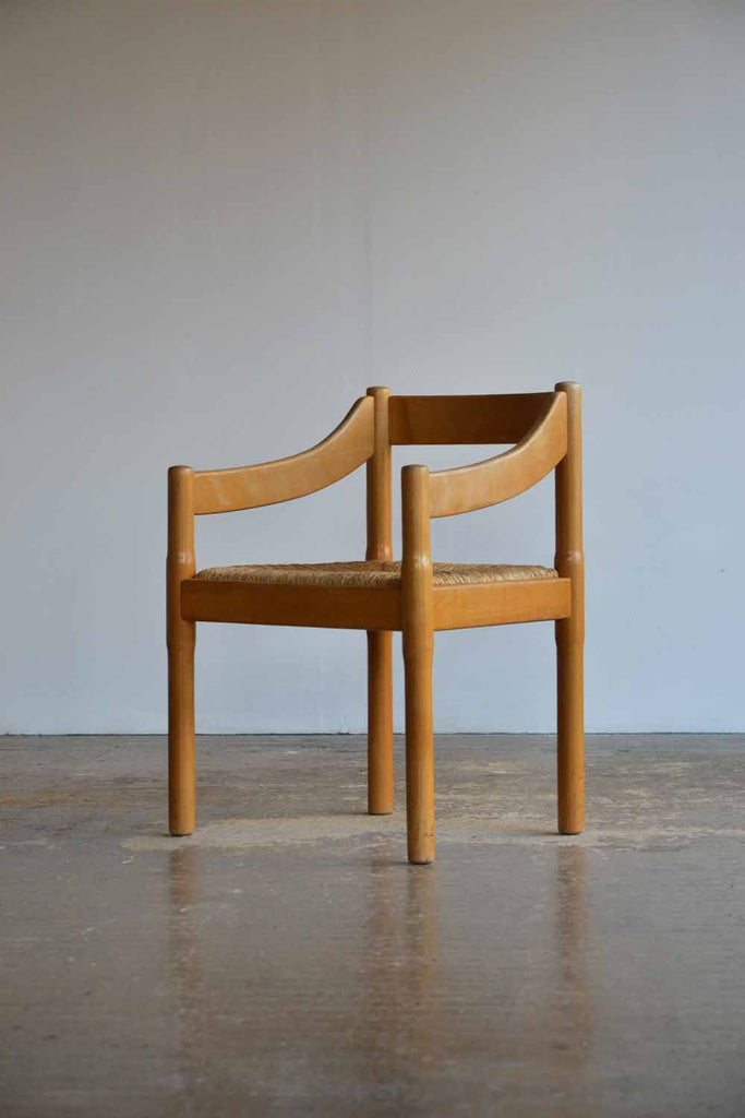 Set of 8 Carimate Chairs by Vico Magistretti for Cassina