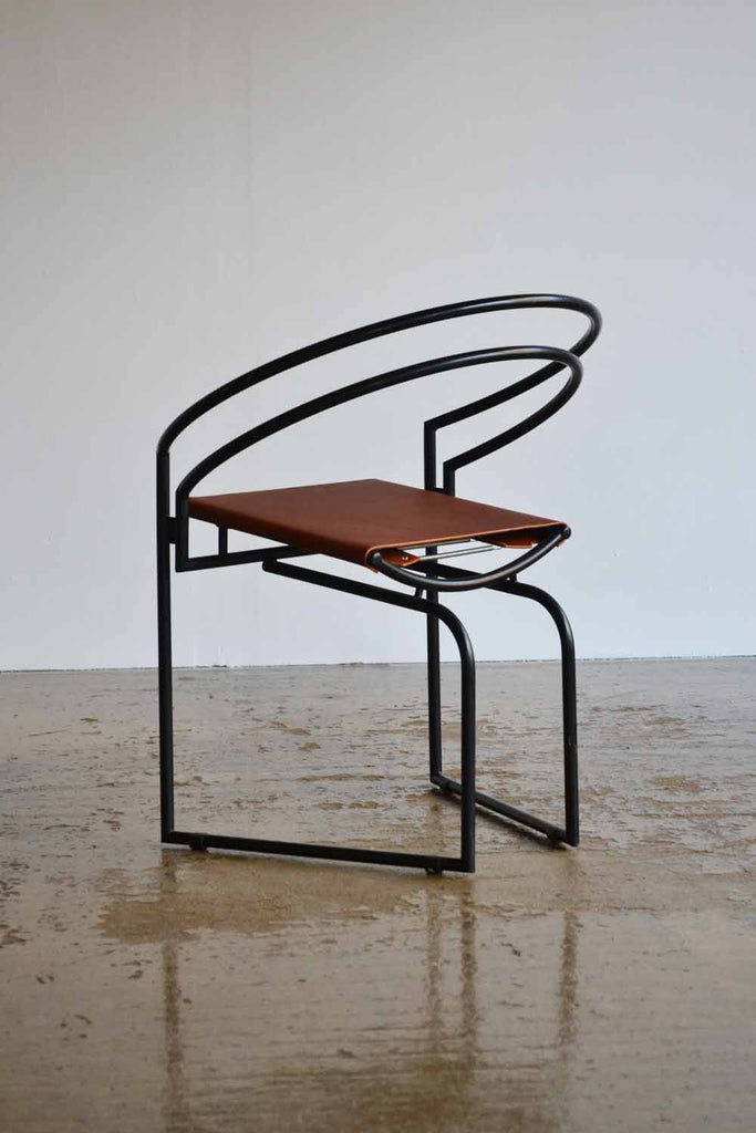 Set of 4 1987 Mario Botta La Tonda Chairs