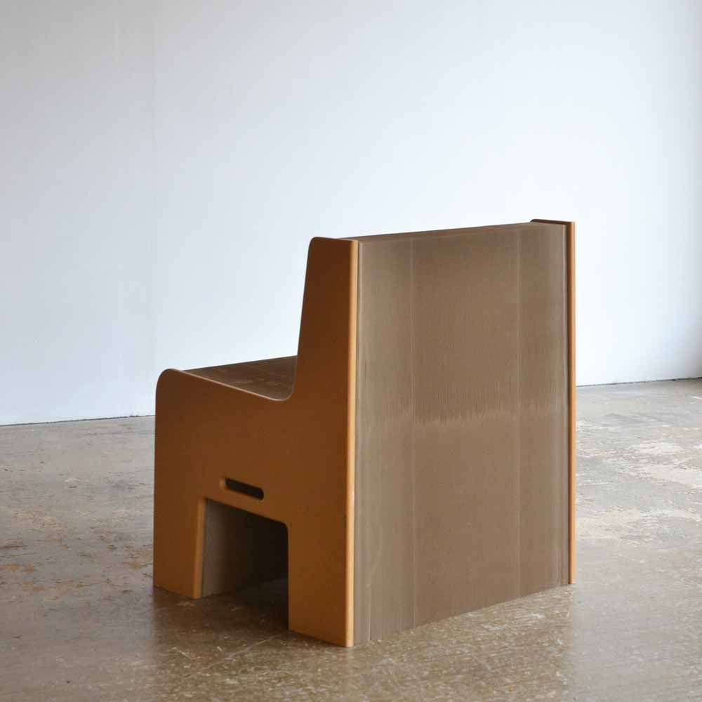 Flexible Love Concertina Cardboard Chair