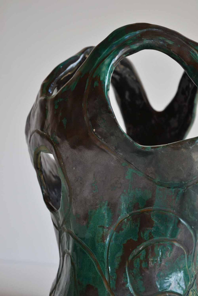 Umberto Ghersi Surrealist Ceramic
