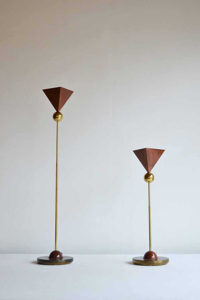 Duo of Italian Table Lamps
