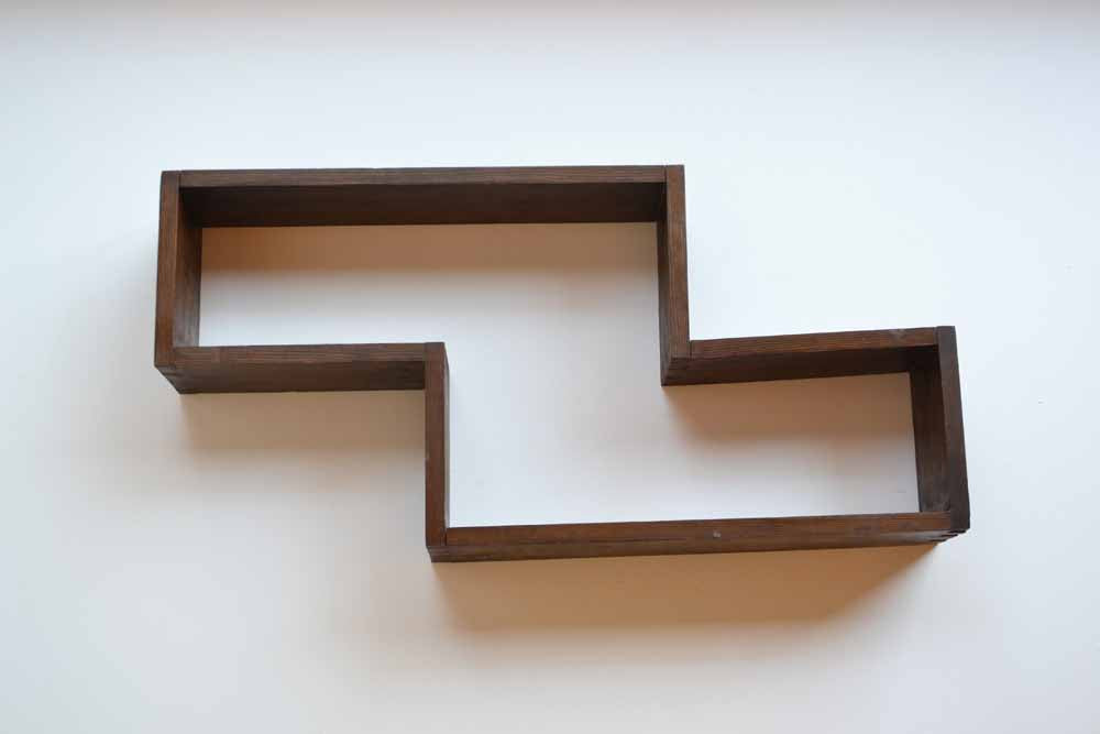 7 Pieces of Geometric Wall Shelving