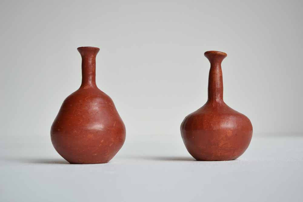 Pair or Miniature Pots