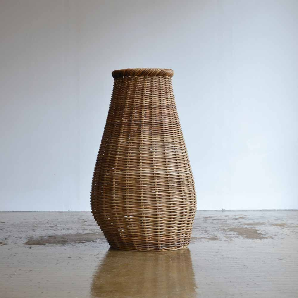 Large Wicker Urn