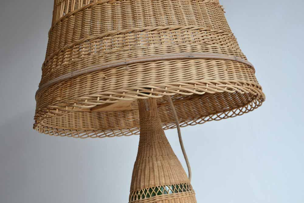 Giant Wicker Lamp