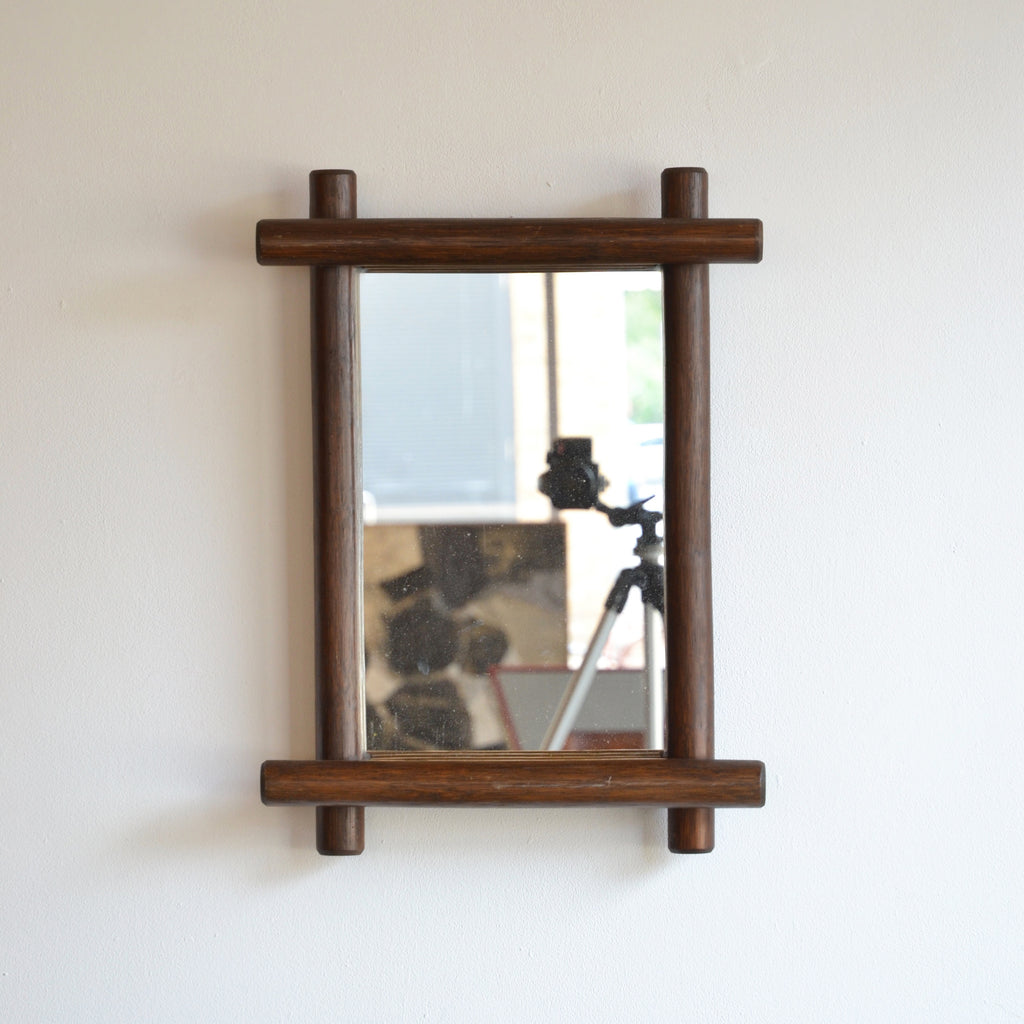 Jumbo Dowel Framed Mirror