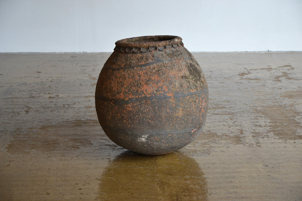 French Terracotta Preserving Jar
