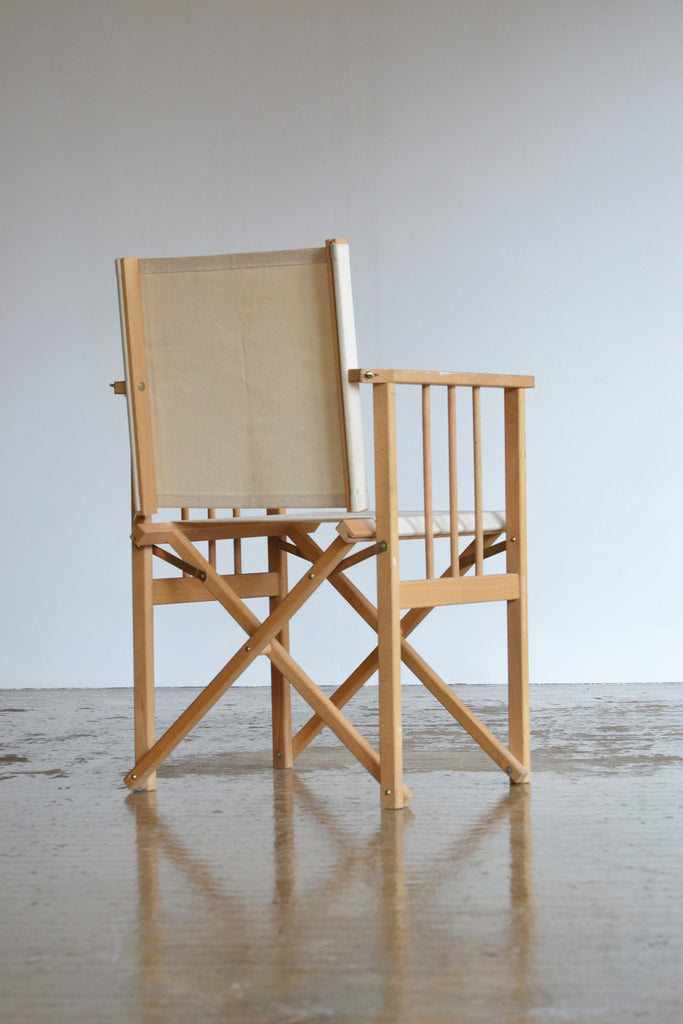 Set of 6 Folding Canvas Chairs