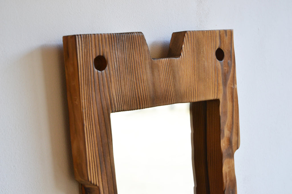 Pine Mirror, Designer Unknown