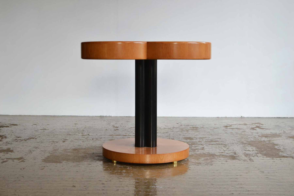 1970's Postmodern Clover Side Table