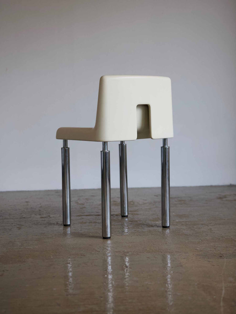 Italian Moulded Plastic Chair - HIRE ONLY