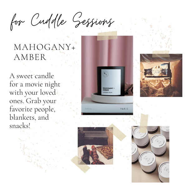 Cuddle sessions Modern Theory candle