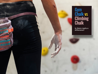 Gym chalk vs Climbing chalk
