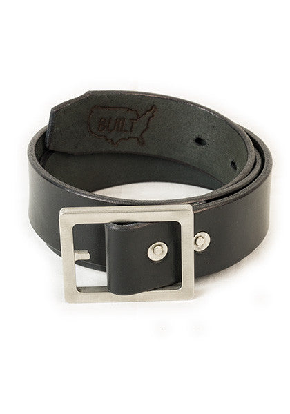 Bulwark Belt | Stock 1.5'' | Black on Heavy Nickel