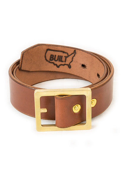 Bulwark: Stock 1.5'' Light Brown | Brass