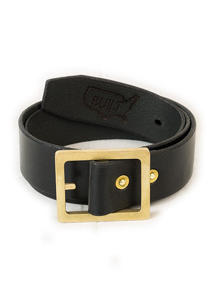 Bulwark Belt | Stock 1.5'' | Black on Brass