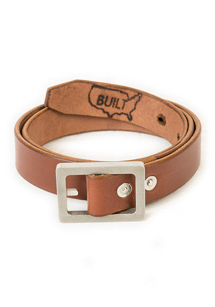 Bulwark: Slim 1.25'' Light Brown | Heavy Nickel