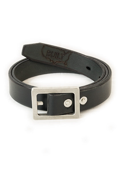 Bulwark: Slim 1.25'' Black | Heavy Nickel