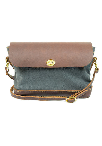 Purse: Dark Brown | Gray
