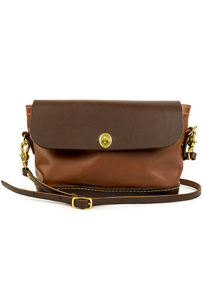 Purse: Full-Leather Brown