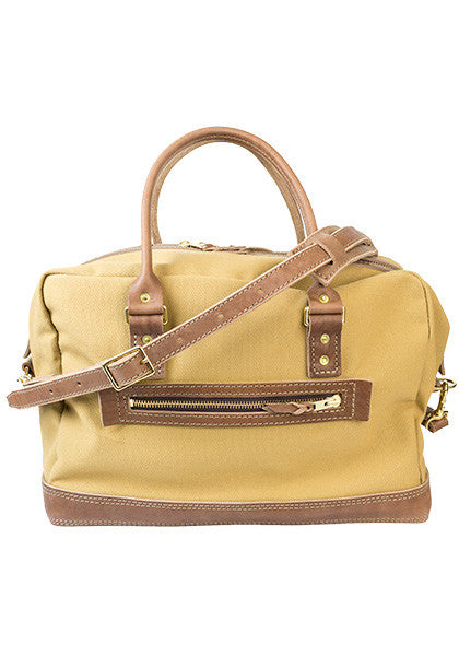Freight Duffle | Light Brown on Khaki