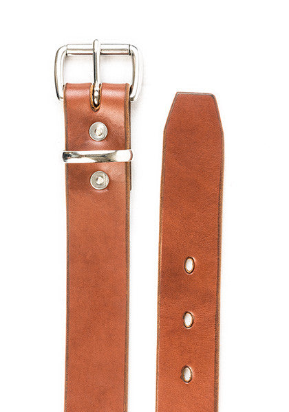 Utility Belt | Stock 1.5'' | Light Brown on Nickel