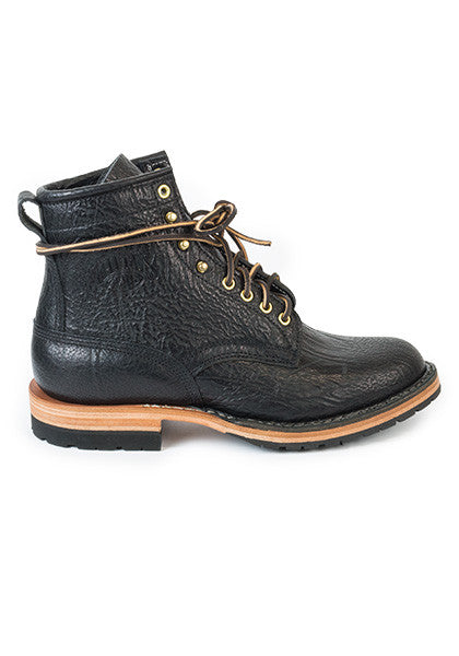 Black Bullhide Boot