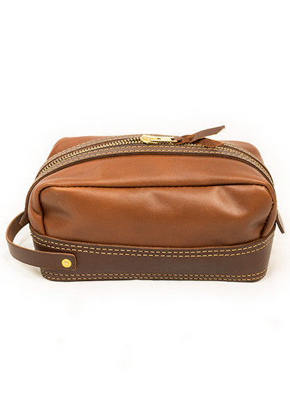Dopp: Full-Leather Brown
