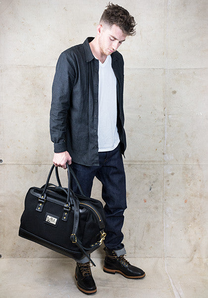 Freight Duffle | Black on Black