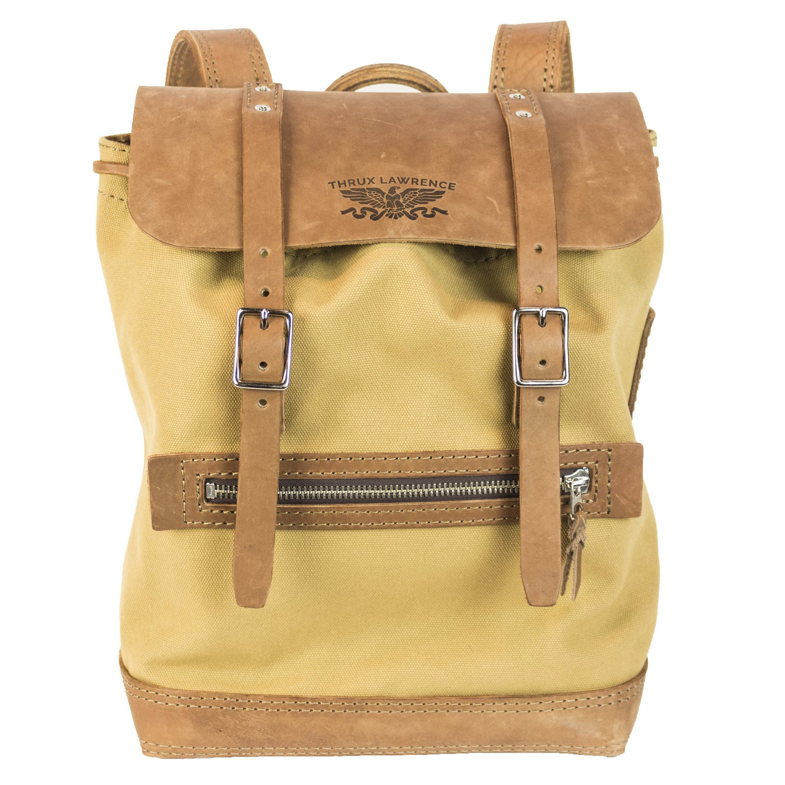 Thrux Pack | Light Brown on Khaki | Nickel Hardware