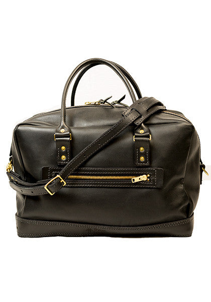 Freight Duffle | Full-Leather Black