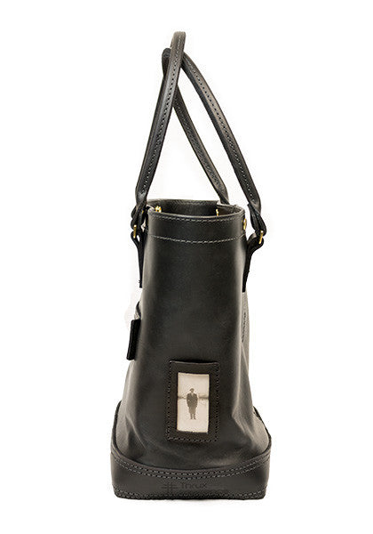 Hoist Tote | Full-Leather Black