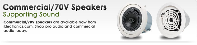 Commercial/70v Speakers